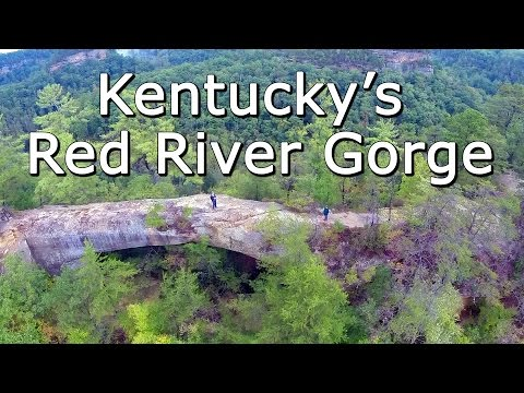 Kentucky's Red River Gorge, Natural Bridges, and Daniel Boone National Forest - Aerial Perspective