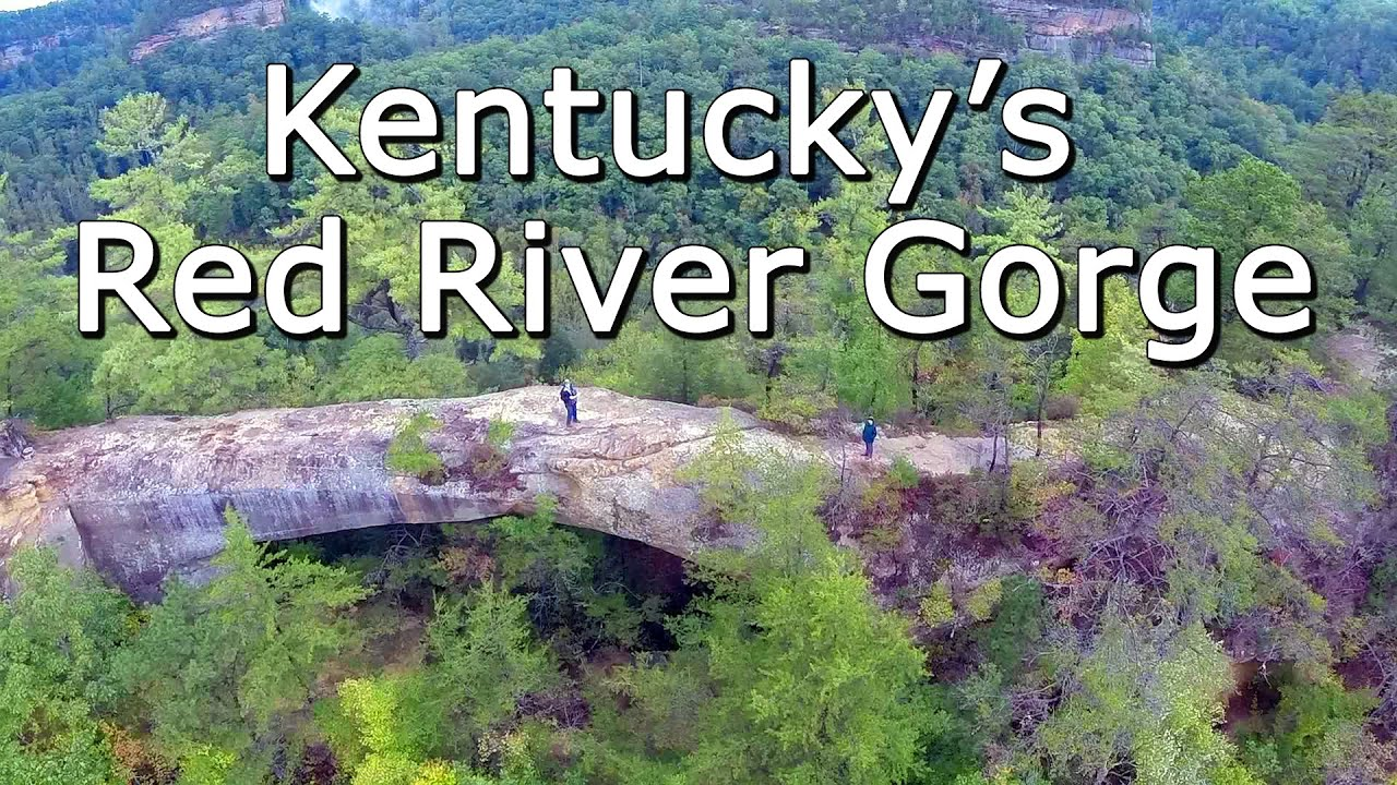 Kentucky's Red River Gorge, Natural Bridges, and Daniel Boone National Forest - Aerial Perspect