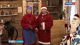 Морозец Паккайне вошел в тройку самых популярных Дедов Морозов страны