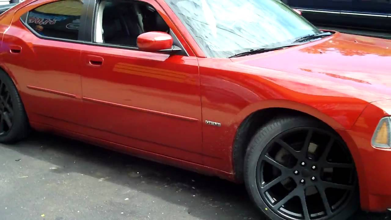 Charger Supercharged On 22 Quot Viper Wheels Youtube
