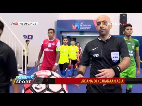 Vamos FC Raih Kemenangan Perdana di Kejuaraan Futsal Asia