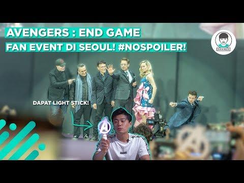 MURNI NGEVLOG AVENGERS END GAME FAN EVENT DI SEOUL!! #NOSPOILER