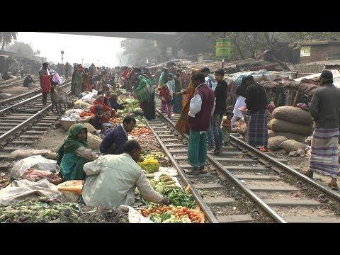 Tejgaon Railway Market, Dhaka, Bangladesh