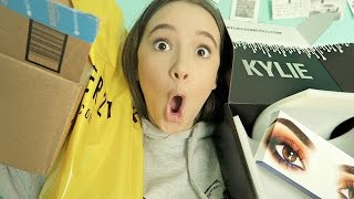 Huge HAUL/UnBoxing (Kylie Peach, F21, Amazon) FionaFrills Vlogs