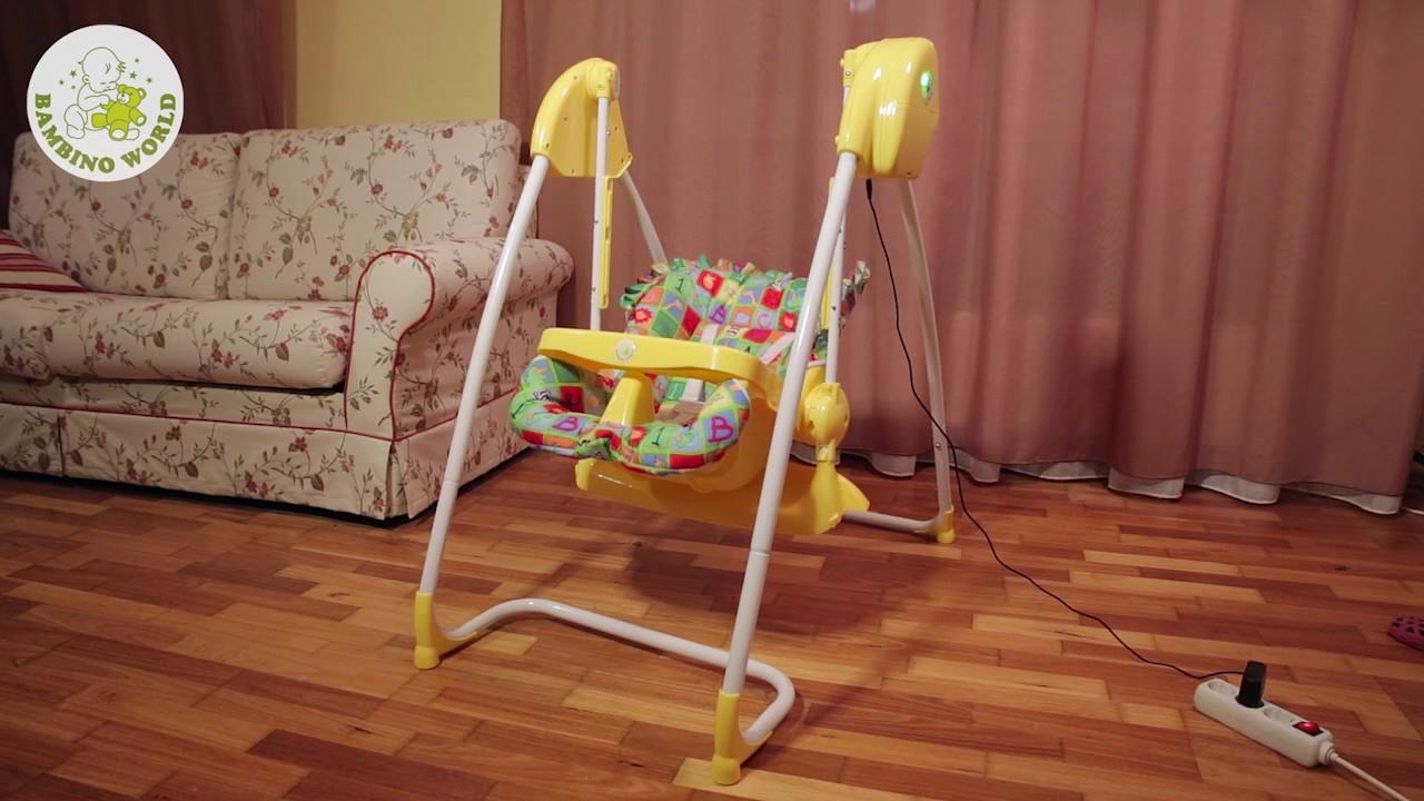 2 in 1 Highchair & electrical Baby Swing Homey - BambinoWorld    www bambinoworld co uk
