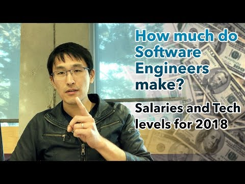 Software Engineer salaries in 2018, tech levels, and lifestyle