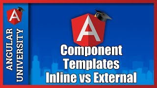 angular 2 components tutorial for beginners component templates inline vs external