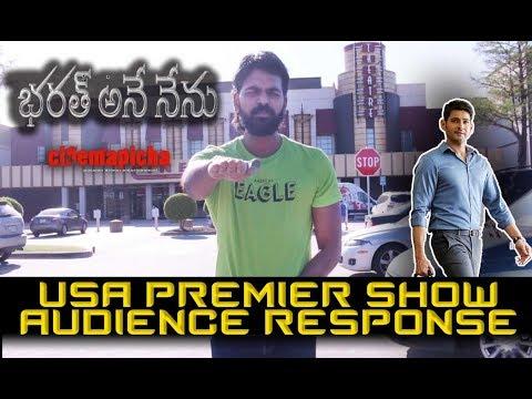 Bharat Ane Nenu  USA Premier Show Audience Response
