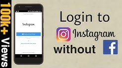 How to Open Instagram without Login Facebook || Bina Facebook ke Login kiye Instagram kaise khole ||