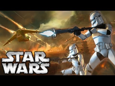 The Republics Disastrous Assault On Geonosis: Star Wars lore