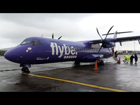 FlyBe ATR 72-500 Liverpool to Ronaldsway, Isle of Man | Full Flight