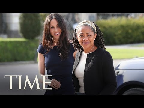 Meghan Markle And Her Mother Arrived At The Cliveden House Hotel For The Royal Wedding | TIME