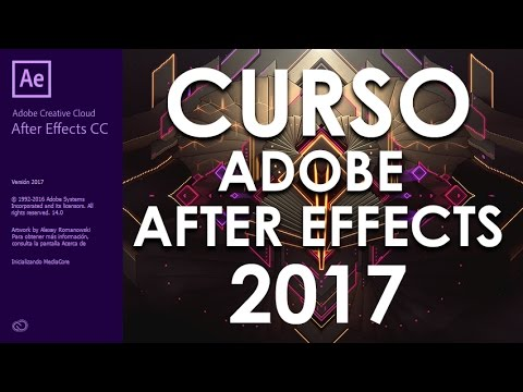 CURSO DE ADOBE AFTER EFFECTS CC 2017 - COMPLETO