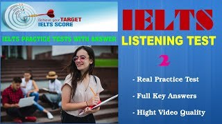 IELTS Listening Practice Tests with Answers and PDF File - Test 02