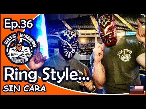 Ep.36 Sin Cara Ring Style Workout...