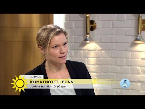 Jordens framtid står på spel - nu samlas världens ledare i Bonn - Nyhetsmorgon TV4