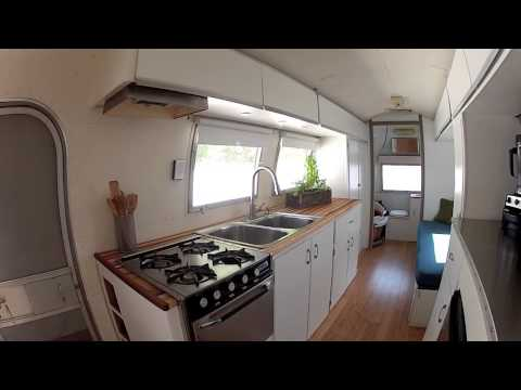 Vintage Airstream Remodel Update 48 By Livinlightly YouTube Mesmerizing Airstream Interior Design Painting