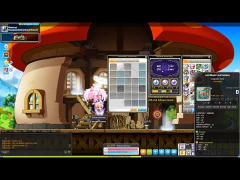 MapleStory SEA Dark Knight Range Build Guide and Training Guide