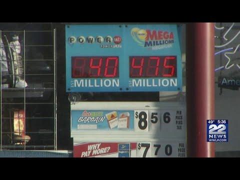 Mega Millions jackpot at $475 million for Tuesday night