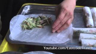 Nem Rán Fried Stuffed Spring Rolls Northern Vietnamese Street Food