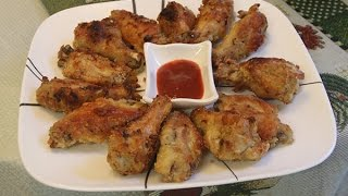 Healthy Baked Chicken Wings Recipe