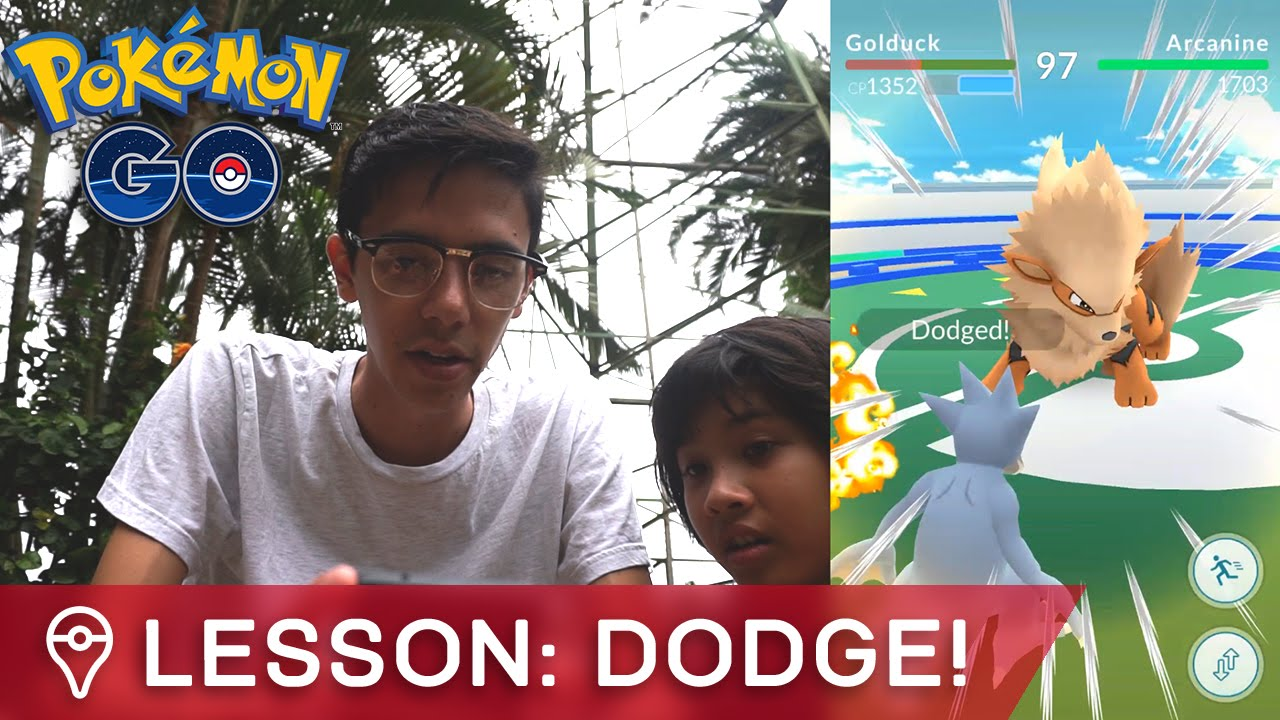 2601990a7ab HOW TO DODGE PERFECTLY IN POKÉMON GO GYM BATTLES. Trainer Tips