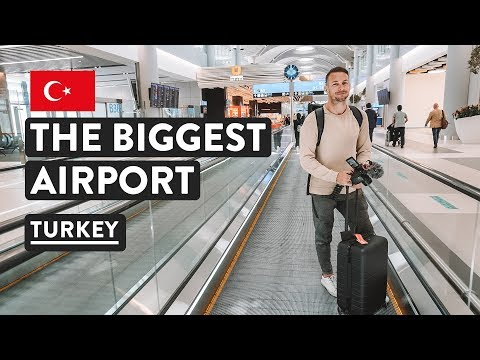 Travel via the BIGGEST AIRPORT IN THE WORLD, ISTANBUL | Turkey Travel Vlog