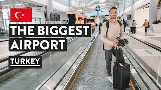 Travel via the BIGGEST AIRPORT IN THE WORLD, ISTANBUL | Turkey Travel Vlog Video