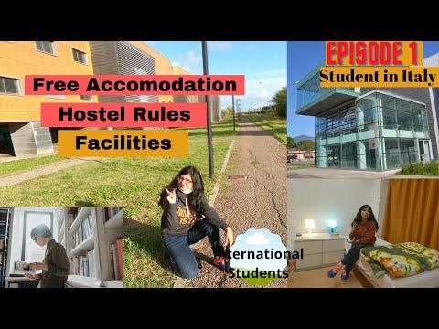Free University Hostels In Italy, Pisa   Cost, Facilities, Accommodation Student Life Italy(Hindi)