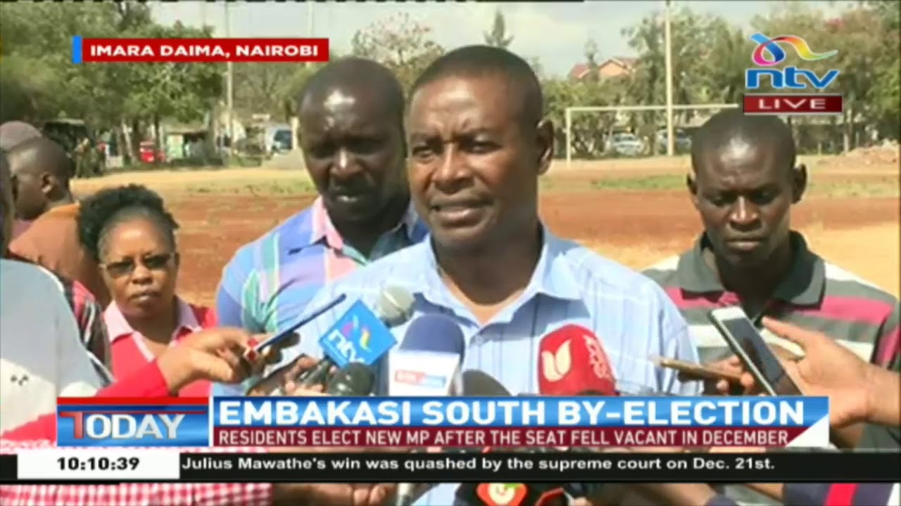 Julius Mawathe cast his vote || Embakasi South By-Election