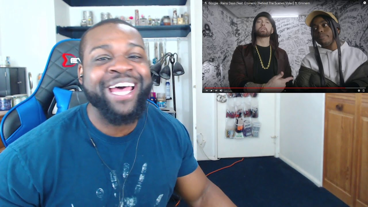 Download Boogie - Rainy Days feat Eminem (Behind The Scenes Video) Reaction