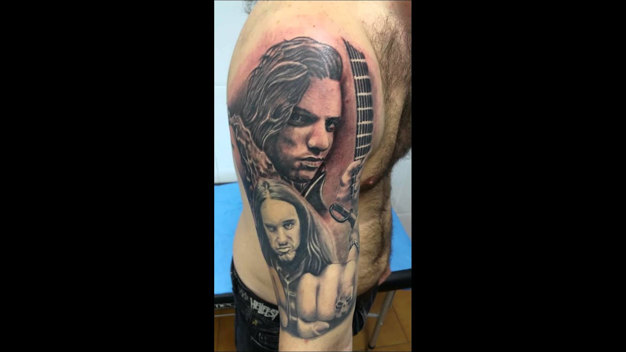 chuck schuldiner tattoo - photo #4