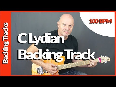 Lydian Mode Backing Track In C