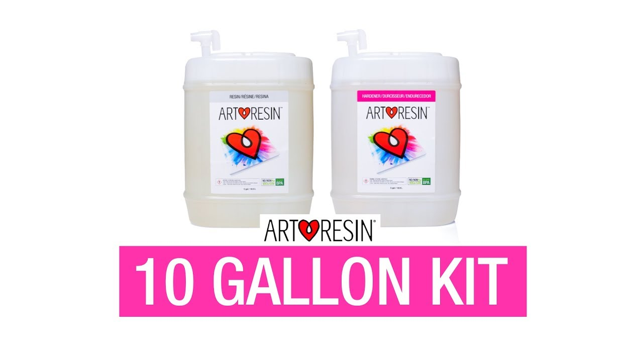 ArtResin Epoxy Resin 10 gal (37 8 L)