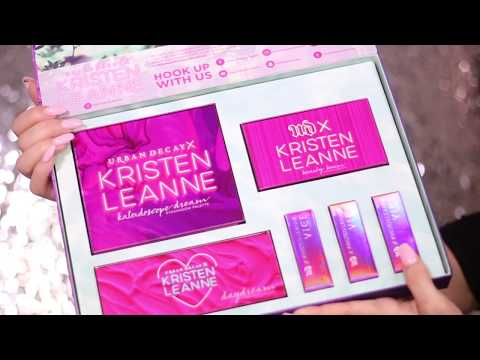 URBAN DECAY X KRISTEN LEANN COLLECTION REVIEW + SWATCHES + TUTORIAL ft. Kaleidoscope Palette