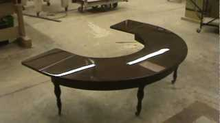 ANTIQUE FURNITURE REPAIR LLC  polyurethane table top