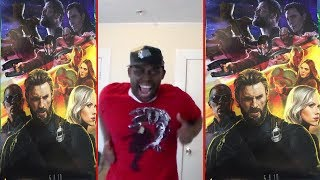 AVENGERS: Infinity War Clip REACTION!!!