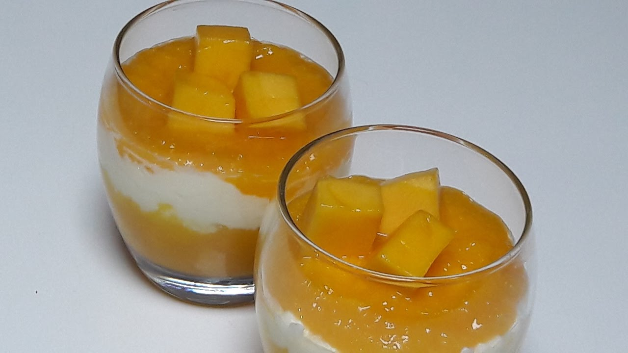 Mango Mascarpone Dessert Youtube