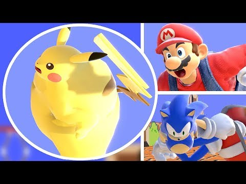 What If Every Smash Bros Character Became Big Chungus in Super Smash Bros Ultimate? Game Glitch