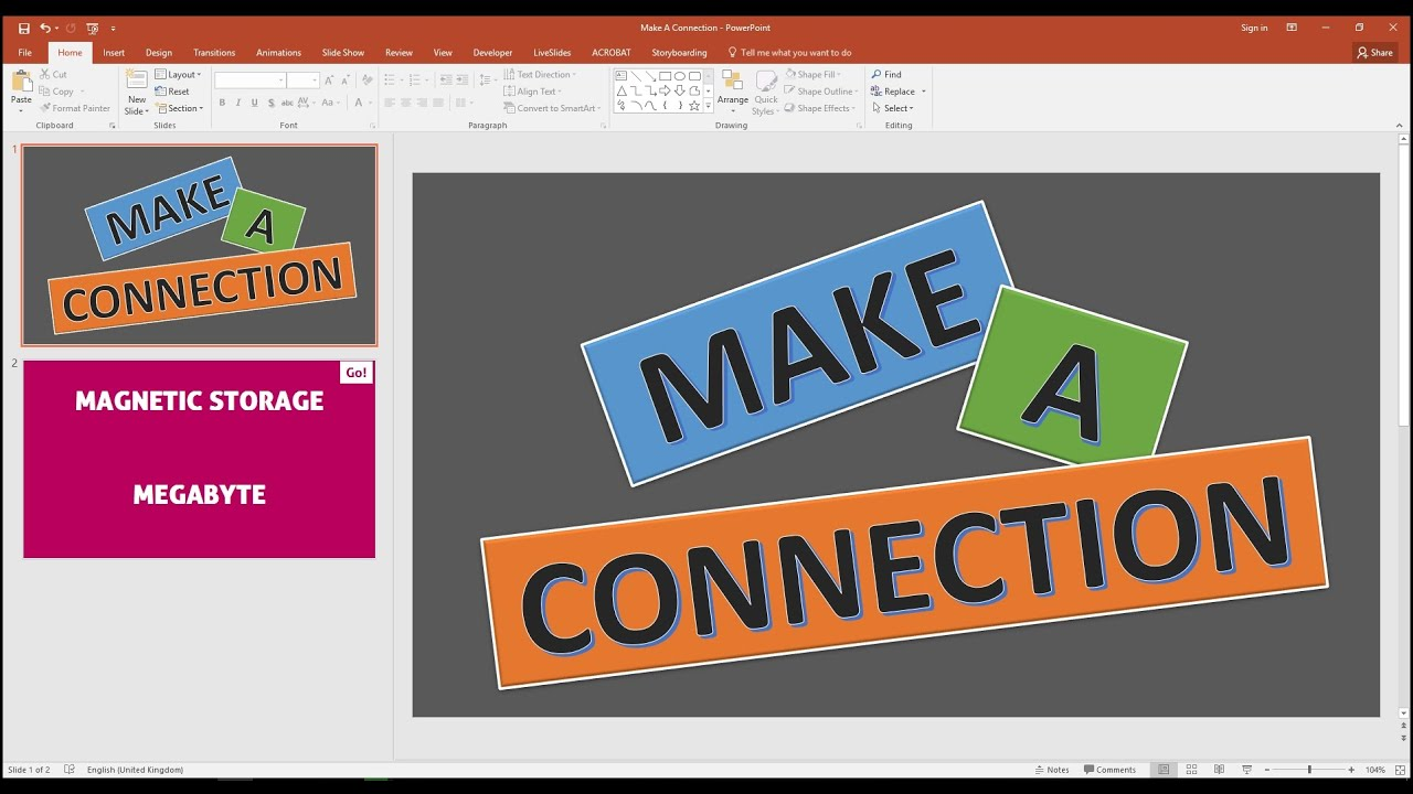 Generate Random Words In PowerPoint From Text File