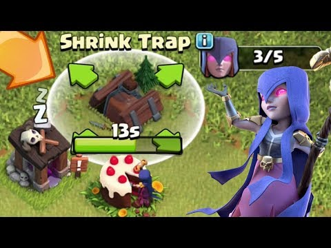 THE WITCH IS THE BUILDER? SHRINK TRAP?? | Clash of Clans | NEW Update