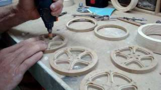 How I Make A Wooden Wheel Part 1