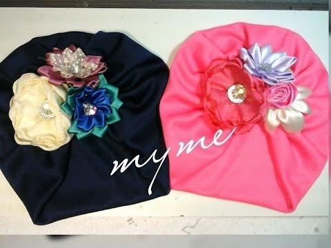 Hermosos turbantes para ni a decorados como hacer un - Ver como hacer manualidades ...