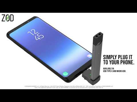ZOD CHARGER - CHARGE YOUR *JUUL FROM YOUR PHONE