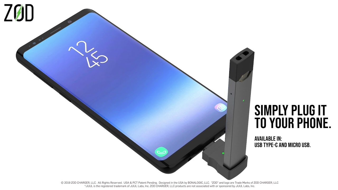 ZodCharger   Zod Charger - Charge your JUUL Direct From Your