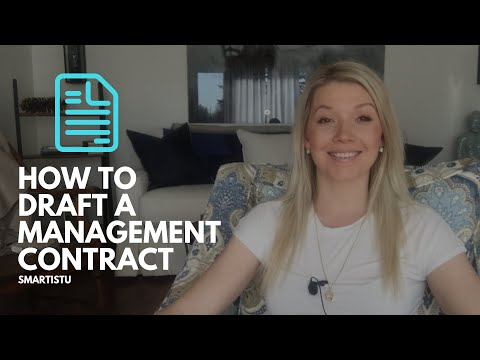 How To Draft An Artist Management Contract