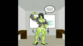 SECRETARY SHE HULK TRANSFORMATION
