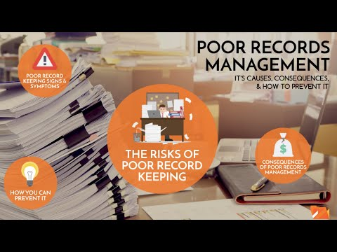 Poor Records Management: Its Causes and Consequences