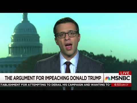 "Ezra Klein: Impeach Trump Because ""He's Not Right Person For the Job"""