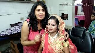 Makeup with hairstyle,Engagement makeup seema jaitly